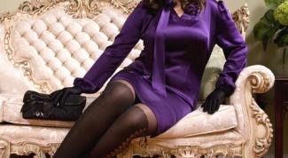 Как подобрать платье для полных