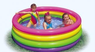 Как заклеить бассейн