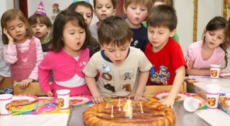 How to celebrate a birthday in kindergarten