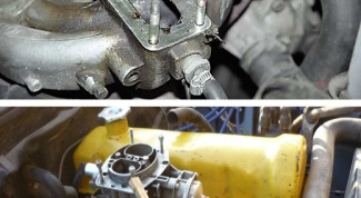 How to put carburetor on 2108 2107