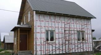 Как обшить бревенчатый дом