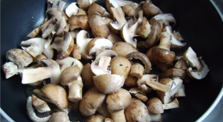 Как пожарить грибы в сметане