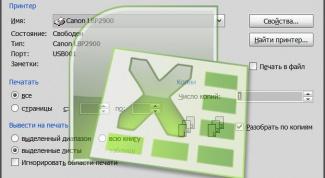 Как распечатывать документы Excel