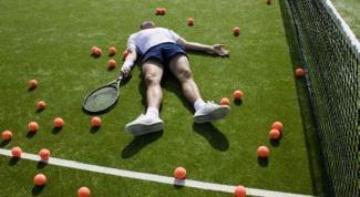 Как научиться играть в большой теннис
