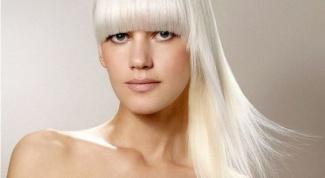 Как осветлить свои волосы до белого цвета