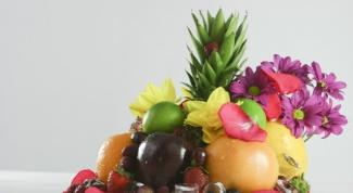 Как сервировать фрукты в 2017 году