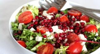 Как приготовить салат с гранатами