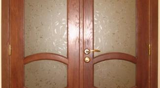 Как установить двойные двери