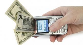 Как перевести деньги с помощью смс