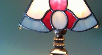 Как украсить абажур