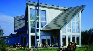 Как построить скатную крышу