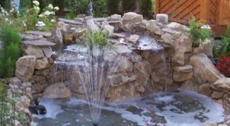 Как построить фонтан на дачном участке