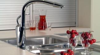 Как заменить кран на кухне