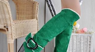 Как покрасить замшевые сапоги