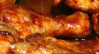 Как готовить куриную голень