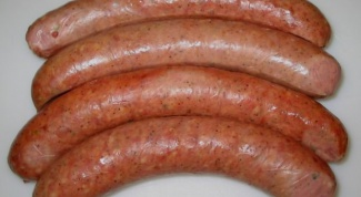 How to prepare homemade sausages