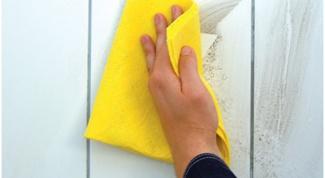 Как очистить плитку от раствора