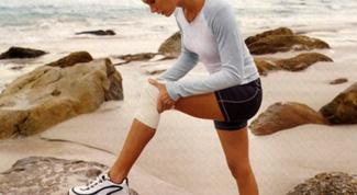 Как накачать колени