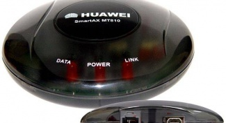 How to log in to the Huawei modem