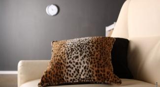 Как сделать диванную подушку