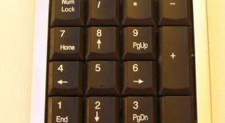 Как включить numpad на ноутбуке