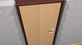 Как отделать проем двери