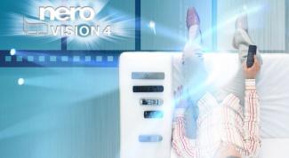 Как записать dvd Nero vision