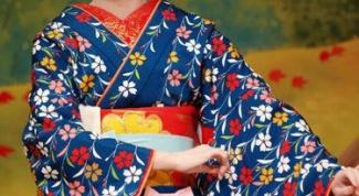 Как надевать кимоно