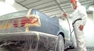 Как покрасить машину из баллончика