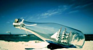 Как собрать корабль в бутылке