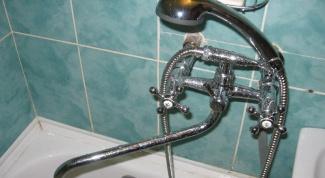 Как установить кран в ванну