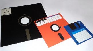 Как записать образ на дискету
