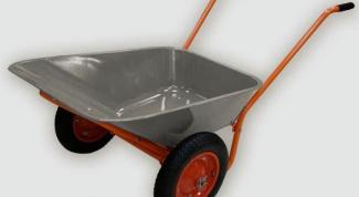 How to make a wheelbarrow