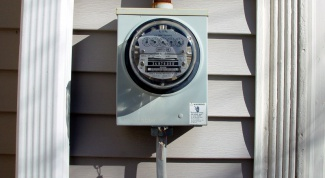 How to take the depositions of three-tariff electricity meter