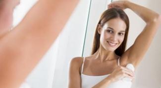 Как отстирать следы от дезодоранта