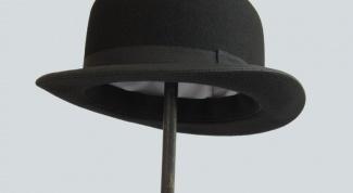 Как сделать шляпу-котелок