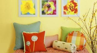 Как повесить картинки на стене