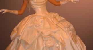 Как почистить свадебное платье