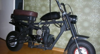 How to make a homemade moped
