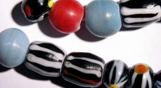 How to make beads from polymer clay