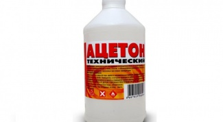 Как убрать запах ацетона