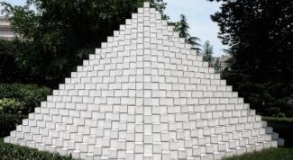 Как сделать треугольную пирамиду
