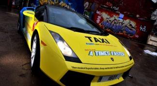 Как рекламировать такси