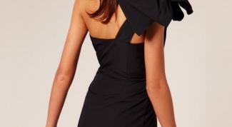 Как завязать бант на платье