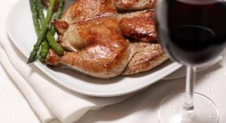 Как приготовить цыпленка