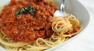 Как приготовить итальянский соус