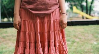 Как сделать ширинку на юбке
