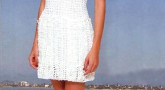 Как связать крючком летнее платье