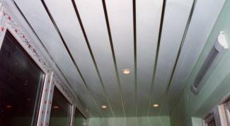 Как разобрать реечный потолок