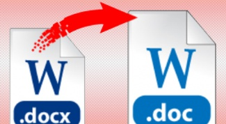 How to open a document in the docx format